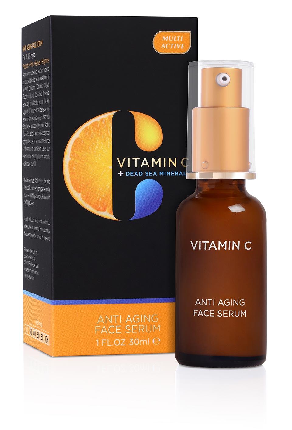 Anti Aging Face Serum Edom Cosmetics Naturally Scientific